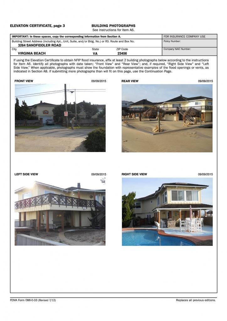 Floor Elevation Certificate : Dkt associates elevation certificate