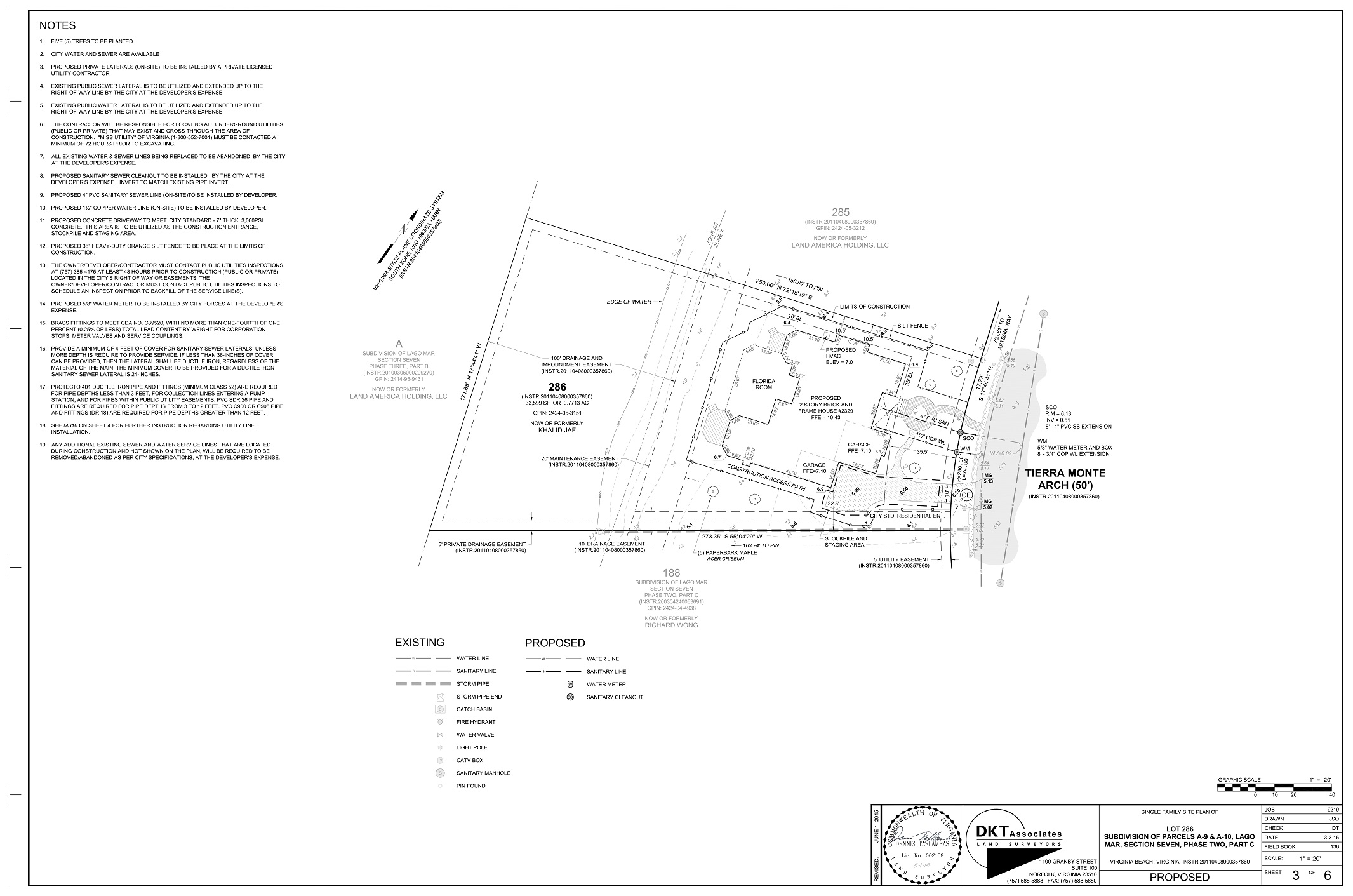 dkt associates u2013 residential site plan